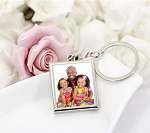 Keychain Photo Frame-Square